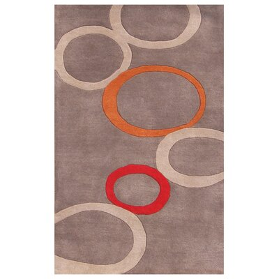 Shoshone Hand-Tufted Gray Area Rug