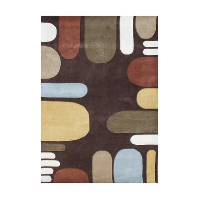 Amundsen Hand-Tufted Brown Area Rug