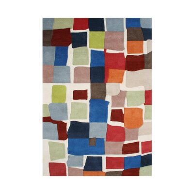 Nunez Hand-Tufted Area Rug Rug Size: 8' x 10'
