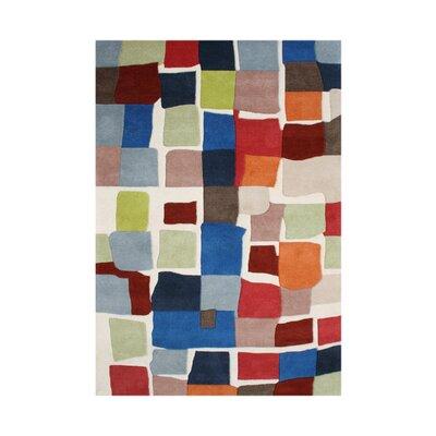 Nunez Hand-Tufted Area Rug Rug Size: 9 x 12