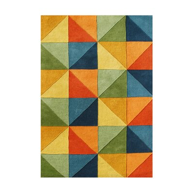 Cabrillo Hand-Tufted Area Rug Rug Size: 5 x 8
