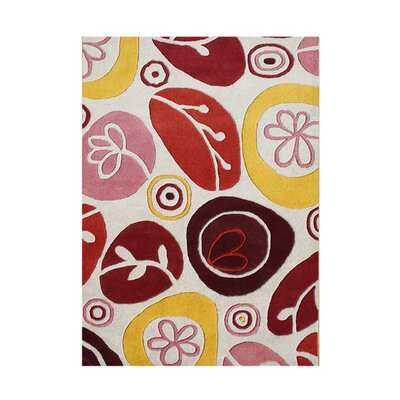 Bernal Hand-Tufted Area Rug Rug Size: 5 x 8