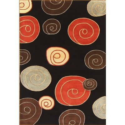 Christopher Hand-Tufted Black Area Rug