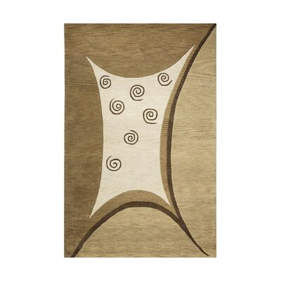 Cook Hand-Tufted Beige Area Rug