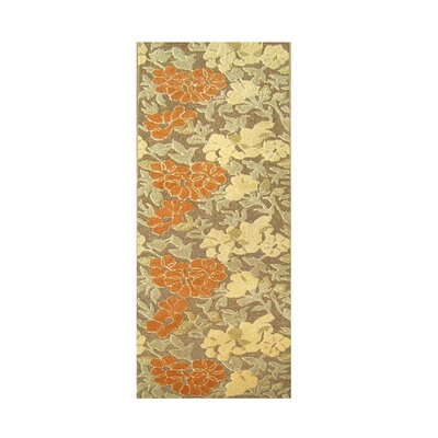 Hernan Hand-Tufted Tobacco Brown Area Rug Rug Size: Runner 3 x 10