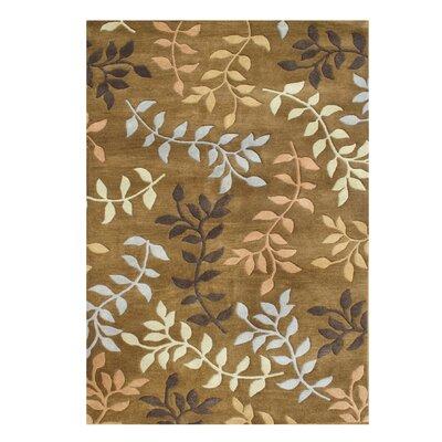 De Aviles Hand-Tufted Brown Area Rug Rug Size: 5' x 8'
