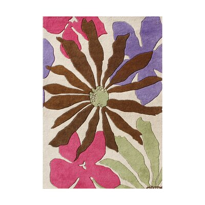 Panfilo Hand-Tufted White Sand Area Rug Rug Size: 8 x 10