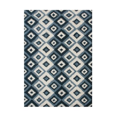 De Pineda Hand-Tufted Orion Blue Area Rug Rug Size: 8 x 10