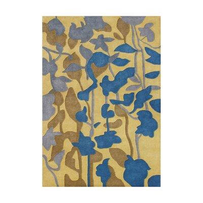 Kelsey Hand-Tufted Cornstalk Area Rug Rug Size: 5 x 8