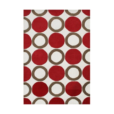 La Perouse Hand-Tufted Brown Sugar Area Rug