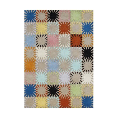 Lark Hand-Tufted Area Rug Rug Size: 5 x 8
