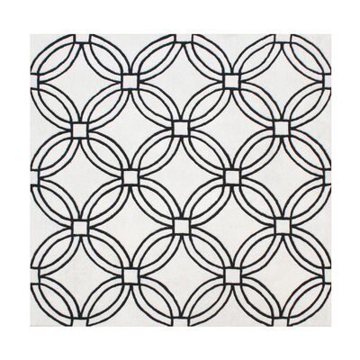 Alexander Hand-Tufted Light Gray Area Rug Rug Size: Square 6
