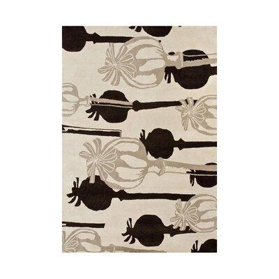 Zebulon Hand-Tufted Sand Area Rug Rug Size: 8 x 10