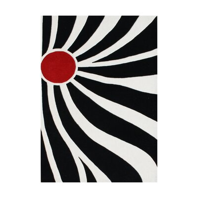 Esprit Hand-Tufted Off-White Area Rug Rug Size: 8 x 10