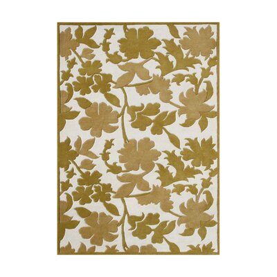 Arakkonam Hand-Tufted Cloud Cream Area Rug
