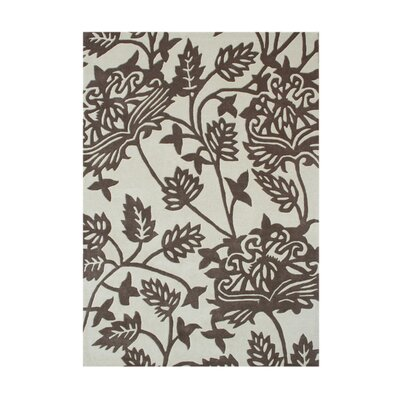 Arambagh Hand-Tufted Vanilla Ice Area Rug