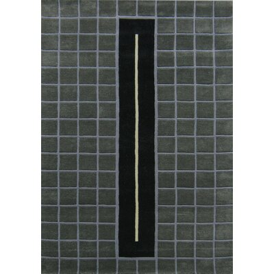 Bapatla Hand-Tufted Slate Gray Area Rug