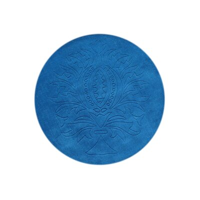 Bobbili Hand-Tufted Blue Area Rug