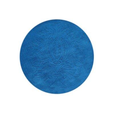 Bobbili Hand-Tufted Blue Area Rug