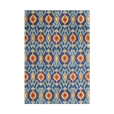 Behar and-Tufted Blue Area Rug
