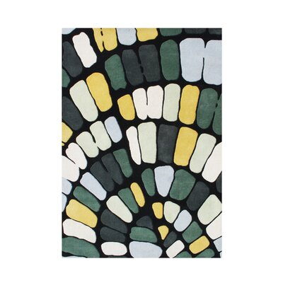 Hand-Tufted Deep Grass Green Area Rug