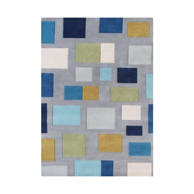 Hand-Tufted Flint Gray Area Rug