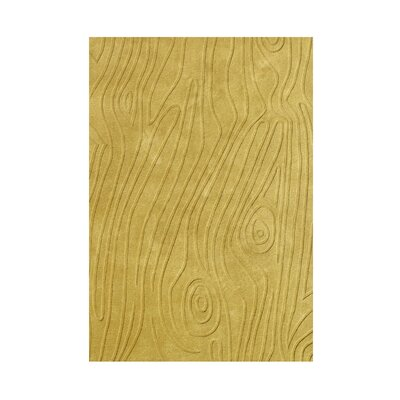 Hand-Tufted Pale Gold Area Rug