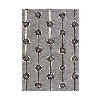 Hand-Tufted Steel Gray Area Rug
