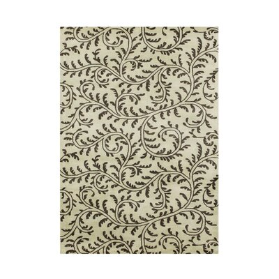 Hand-Tufted Taupe Area Rug