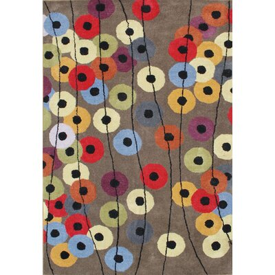 Hand-Tufted Elephant Gray Area Rug Rug Size: 6 x 9