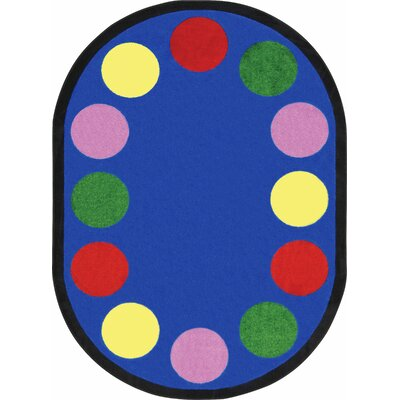 Area Rug Rug Size: Oval 78 x 109