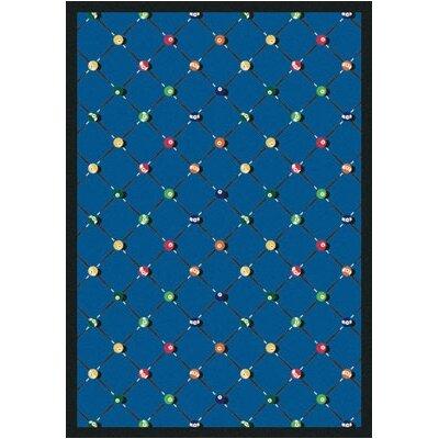 Blue Area Rug Rug Size: 54 x 78