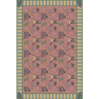 Pink Area Rug Rug Size: 310 x 54