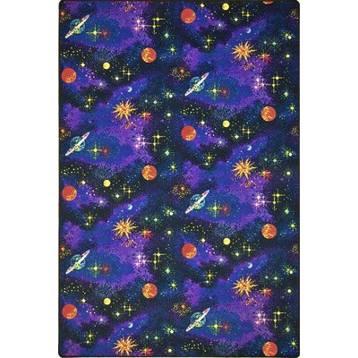 Blue Area Rug Rug Size: Rectangle 12 x 12