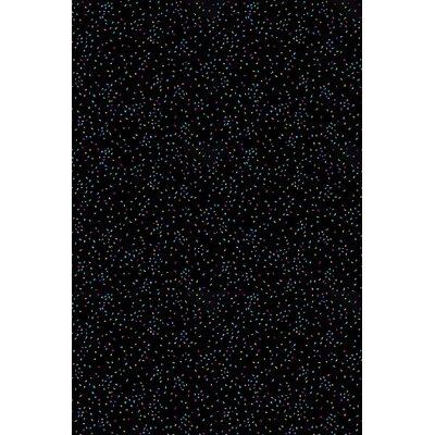 Black Area Rug Rug Size: Rectangle 12 x 15