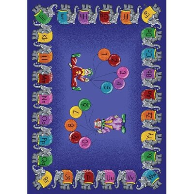 Purple Area Rug Rug Size: 54 x 78