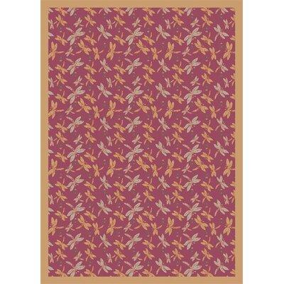 Rose Area Rug Rug Size: 310 x 54