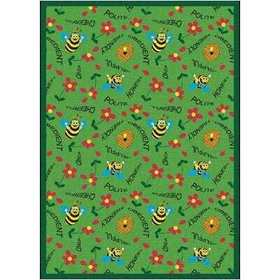 Green Area Rug Rug Size: 310 x 54