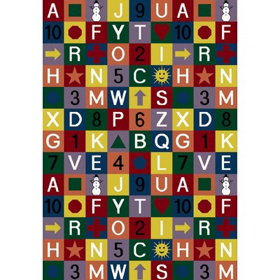 Area Rug Rug Size: Rectangle 78 x 109