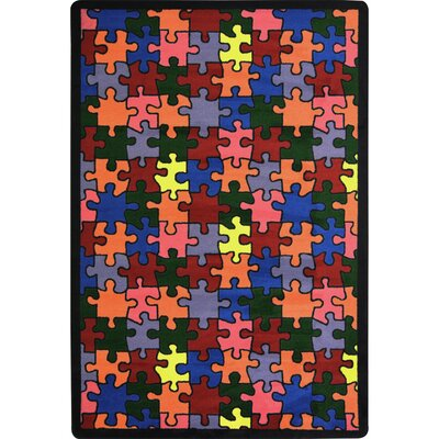 Area Rug Rug Size: 109 x 132