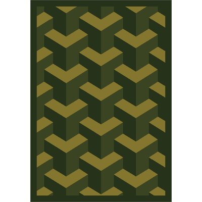 Green Area Rug Rug Size: 310 x 54