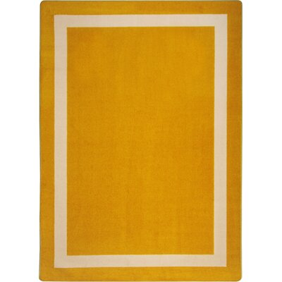 Orange Area Rug Rug Size: 310 x 54