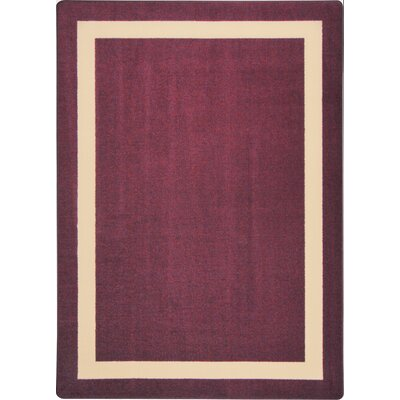 Purple Area Rug Rug Size: 78 x 109
