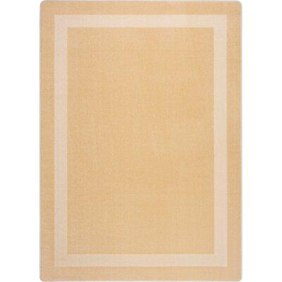 Sandstone Area Rug Rug Size: 109 x 132