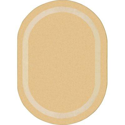 Sandstone Area Rug Rug Size: Oval 54 x 78