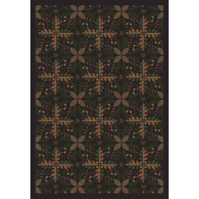 Dark Timber Area Rug Rug Size: 78 x 109