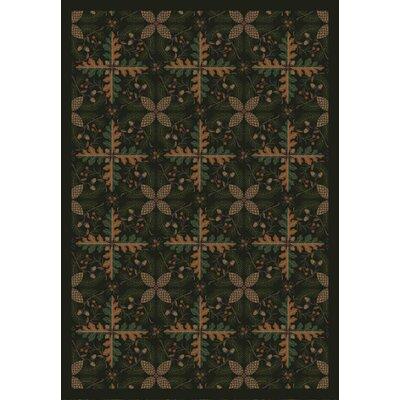 Pine Area Rug Rug Size: 78 x 109