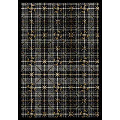 Gray Area Rug Rug Size: Rectangle 310 x 54