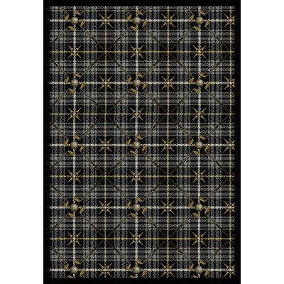 Gray Area Rug Rug Size: Rectangle 54 x 78