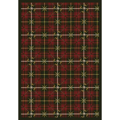 Red Area Rug Rug Size: Rectangle 310 x 54